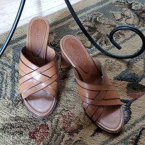 Cole Haan Chunky Leather Size 8 Sandals